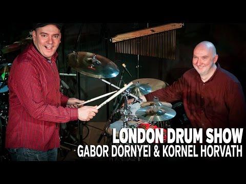 tHUNder Duo - Gabor Dornyei & Kornel Horvath London Drum Show Performance