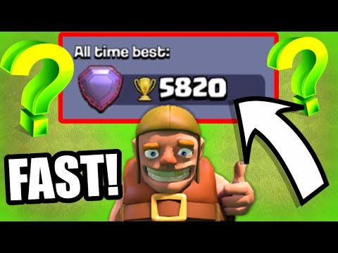 FASTEST METHOD TO GAIN TROPHIES!? LETS TEST IT OUT! - Clash Of Clans