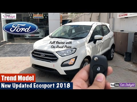 New Ford Ecosport 2018 Trend Model Detailed Review | Team Car Delight