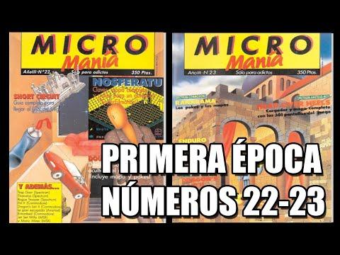 MICROMANIA PRIMERA EPOCA NUMEROS 22 y 23