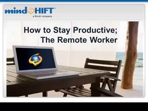 Working Remotely? Technology For Staying Productive