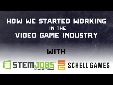 Different Paths to Working in the Gaming Industry - with Schell Games