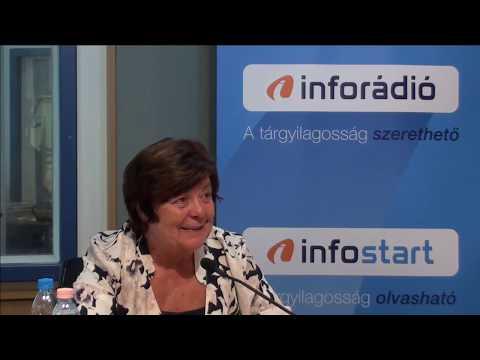 InfoRádió - Aréna - Pálffy Ilona - 1. rész - 2019.08.12.