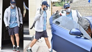 Ram Charan Exclusive Visuals @ Gym Outside | Celebrities Gym Videos | TFPC - TFPC