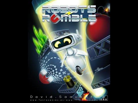 BITeLog 00C7: Robots Rumble (ZX SPECTRUM / COMMODORE 64) LONGPLAY