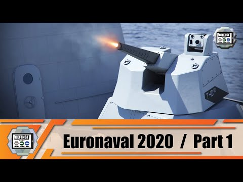 Euronaval Online 2020 Daily 1/2 latest products and technologies of naval defense security industry