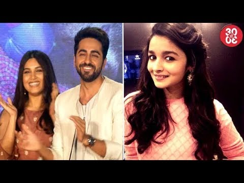 Ayushmann-Bhumi Launch 'Shubh Mangal Savdhaan's Trailer | Alia Makes A Brand Give In To Her Demands