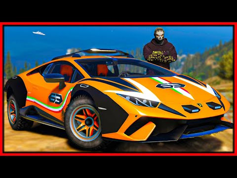 GTA 5 Roleplay   if they catch me they win my Lamborghini   RedlineRP