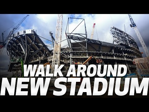 WALK AROUND SPURS NEW STADIUM!