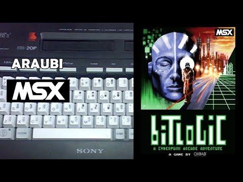 Bitlogic (The Pets Mode, 2016) MSX [486] Walkthrough Comentado