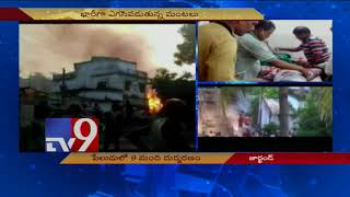 Fire kills 9 in illegal firecracker factory in Jharkhand