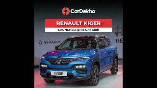 Renault Kiger Launched @ Rs5.45 Lakh | Quick Look