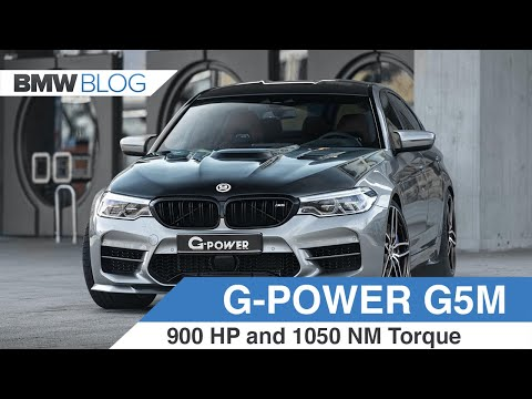 INCREDIBLE: G-POWER G5M HURRICANE RR makes 900 hp!