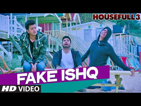 FAKE ISHQ Video Song | HOUSEFULL 3