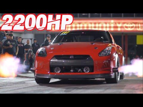 Underdog GTR Battles 3000HP Lambos! (10,000HP Worth of Nissan GTRs)