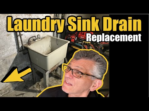 Laundry Sink Drain Replacement