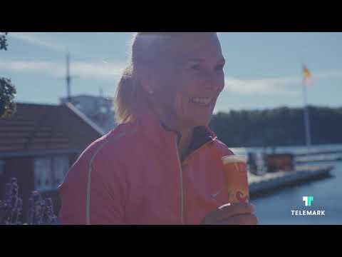 Sykling på skjærgårdsveien i Telemark, kort versjon