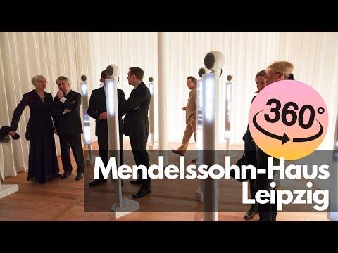 360° Mendelssohn-Haus Leipzig (Effektorium und Zimmer von Fanny Hensel)