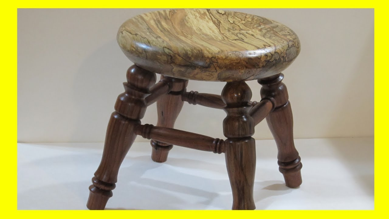 How to Turn a 4 Legged Child's Stool (Part 2 of 3 part Stool Series)