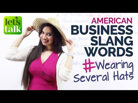 American Business Slang Words used in English conversation – Advanced English Lesson.