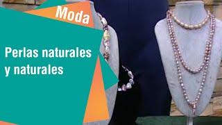 Perlas naturales y cultivadas   Moda