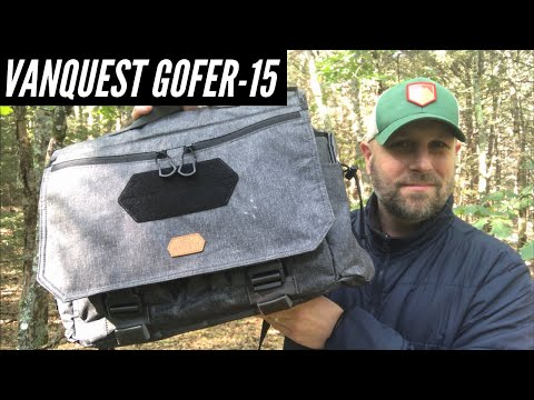 Vanquest GOFER-15 Messenger Bag - Big Brother to the GOFER-12: It's Another Solid One From Vanquest
