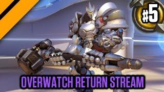 Overwatch Beta Return Stream Day 2! P5