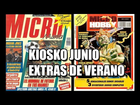 MICROMANIA EXTRA VERANO KIOSKO JUNIO 1990