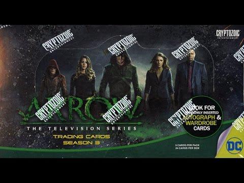 Box Busters: 2017 Cryptozoic Arrow Season 3