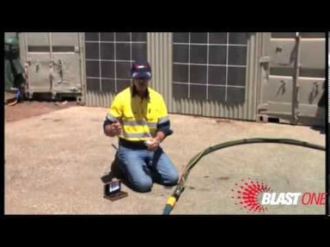 Industrial Sandblasting:  How To Check Nozzle Pressure