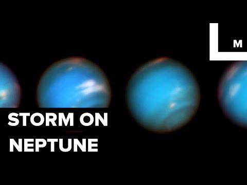 Nasa's Hubble Space Telescope Reveals a Gigantic 'fart' Storm on Neptune