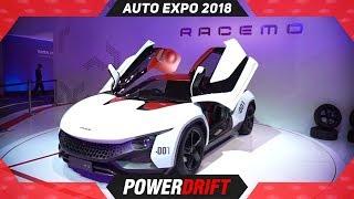 Tata Stall @ Auto Expo 2018 in Hindi : PowerDrift
