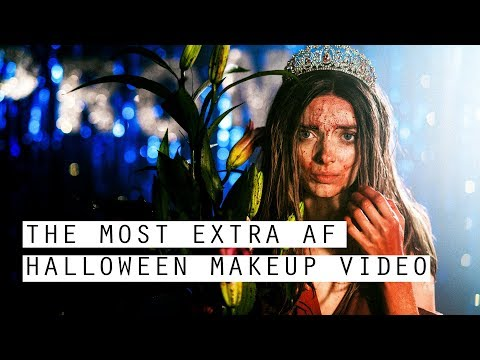 THE ULTIMATE EXTRA AF HALLOWEEN MAKEUP VIDEO // MyPaleSkin