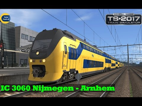IC 3060 van Nijmegen naar Arnhem | NS Virm | Train Simulator 2017