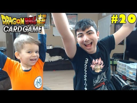 Super Saiyan Sibling Saturday! | Opening Dragon Ball Super Union Force Packs With Lukas #20