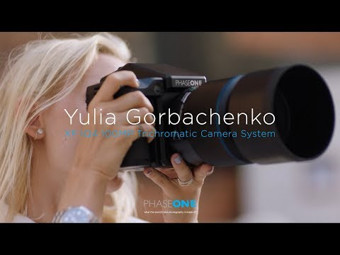 Yulia Gorbachenko with the XF IQ4 100MP Trichromatic Camera System | Phase One