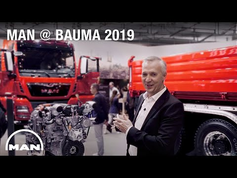 MAN bauma 2019: Göran Nyberg about future trends & MAN innovations