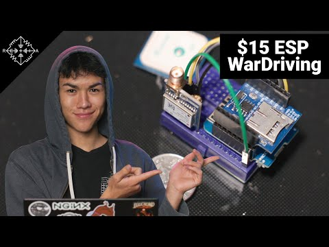 HakByte: Create a $15 WarDriving Rig to Log WiFi Data w/ the ESP8266