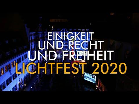 Rückblick auf das Lichtfest Leipzig 2020