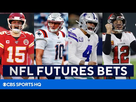 NFL Futures Bets: Chiefs, Patriots, Cowboys, Bucs, & Rams | CBS Sports HQ