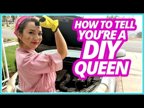 HOW TO TELL if You're a DIY Queen w/ Mia Stammer