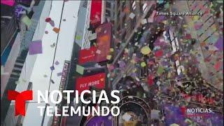 Realizan ensayo final de la celebración de fin de año en Nueva York   Noticias Telemundo