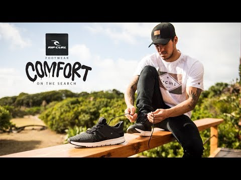 Comfort On The Search | Rip Curl Footwear 2018