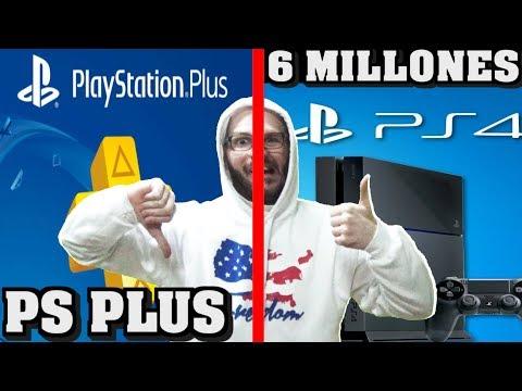 connectYoutube - ¡¡¡PS4 VENDE 6 MILLONES EN NAVIDAD PERO LOS SONYERS LE DICEN NO AL ONLINE!!! - Sasel - Noticias