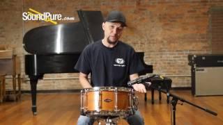 Craviotto 6.5x14 Mahogany Custom Snare Quick n' Dirty
