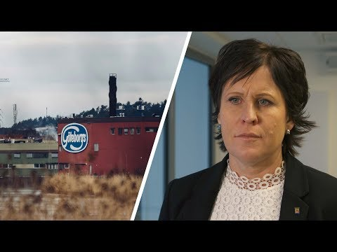 Kungälv - Maria Andersson kommenterar Orklas planer på att flytta kexfabriken