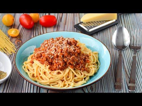 Спагетти БОЛОНЬЕЗЕ ☆ Итальянская КУХНЯ ☆ Bolognese ricetta