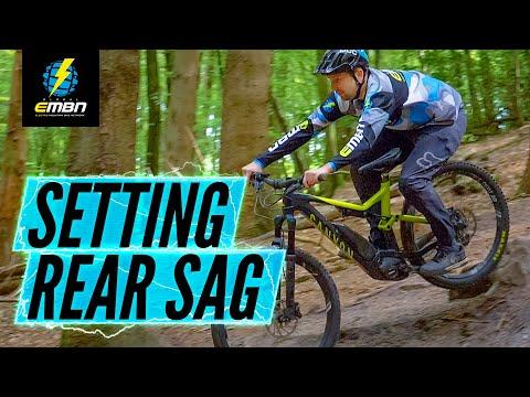 How To Set Up Rear Sag | E-Bike Suspension Tips