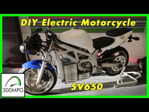 Electric Motorcycle: Suzuki SV650 Conversion
