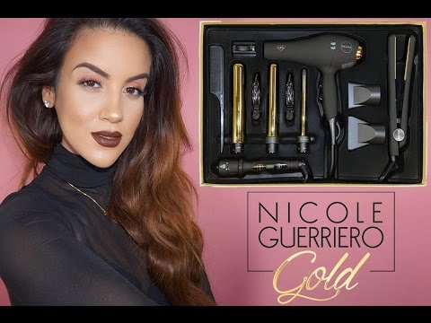 Nicole Guerriero Gold x Bellami Hot Tools Kit + Easy Effortless Hair
